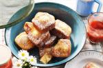 Australian Mini Madeira Cakes With Strawberry And Apple Compote Recipe Dessert