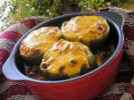 Chilean Cheesy Stuffed Bell Peppers Dinner