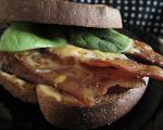 Australian Broiled Bacon Cheese and Onion Sandwich Appetizer