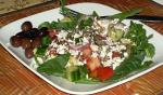 Australian Kittencals Greek Garden Salad With Greekstyle Dressing Appetizer