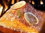Australian Lemon Grilled Salmon Dinner