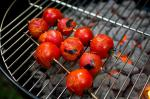 American Grilled Cherry Tomatoes With Curry and Golden Raisins Recipe Appetizer