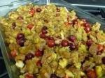 American Cranberry Sage Stuffing on the Side Appetizer