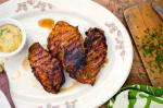 American Sweet and Spicy Grilled Chicken Breasts Recipe Dinner