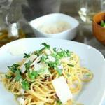 American Espaguettis to the Carbonara Appetizer