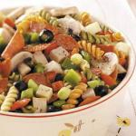 British Zesty Chicken Pasta Salad Appetizer