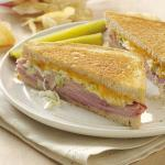 British Zesty Grilled Sandwiches Appetizer