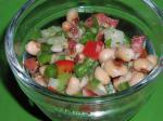American Black Eyed Pea Salsa 1 Appetizer