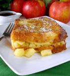 French Apple Stuffed French Toast Dessert