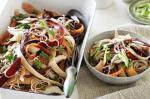 Japanese Japanese Pickled Carrot Chicken and Soba Noodle Salad Recipe Appetizer