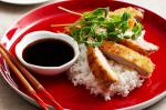 Japanese Pork Schnitzel With Teriyaki Glaze Recipe recipe
