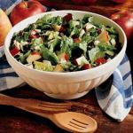 Canadian Spinach Apple Salad Appetizer
