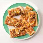 American Southwest Chicken Fajita Pizza Appetizer