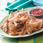 American Southwestern Appetizer Triangles Appetizer