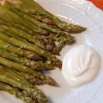 French Asparagus with Sour Cream Drink