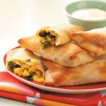 American Spinach and Black Bean Egg Rolls Appetizer