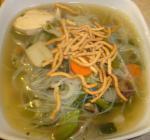 American Easy Asian Chicken Noodle Soup Dinner