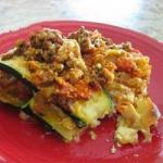 American Summery Courgette Lasagna Without Noodles gluten Free Appetizer