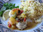 Grilled Halibut With Pineapple Chipotle Salsa recipe