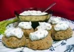 British Crab Cakes With Herbed Mayonnaise 2 Appetizer