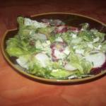Australian Salad with Feta and Radishes Appetizer