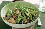 Australian Mushroom and Asparagus Salad With Vinaigrette Recipe Appetizer