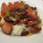 Australian Rice with Kidney Beans red Beans and Rice Dinner