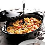 American Southwestern Pasta and Cheese Appetizer