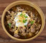 Crock Pot Green Chili Pork En  recipe