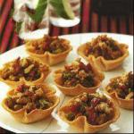 Russian Onions Cakes Appetizer