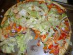 French Chicken Taco Pizza 1 Appetizer