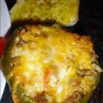 Spanish Chicken-stuffed Bell Peppers Spanish Style Dinner