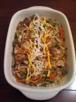 Chop Chae korean Mixed Vegetables With Beef and Noodles recipe