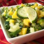 Australian Cucumbermango Salsa Recipe Appetizer