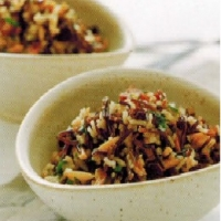 Spanish Wild Rice Salad Appetizer