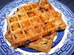 American Blueberry Whole Grain and Bran Waffles Dessert