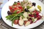 French Nicoise Salad With Basil and Anchovylemon Vinaigrette Recipe Appetizer
