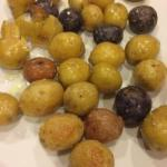 American with Rosemary Potatoes and Sea Salt Appetizer