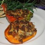 French Peppers Stuffed with Dinner