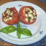 Italian Broiled Tomatoes with Feta Cheese BBQ Grill
