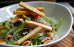 British Cabbage and Carrot Noodles With Egg Recipe Appetizer