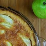 French Cake of Pears and Almonds Dessert