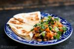 Chilean Black Eyed Pea Salsa with Cheese Quesadillas Recipe BBQ Grill