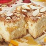 Greek Cheesecake with Peaches Dinner