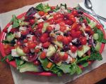 Australian Tossed Green Salad W Chicken and Raspberry Chipotle Vinaigrette Appetizer