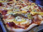 American Homemade Deep Dish Sausage Pizza Dinner
