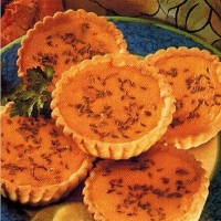 Australian Mini Pumpkin And Curry Quiches Appetizer