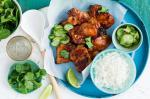 Australian Sticky Ginger Chicken With Pickled Cucumber Salsa Recipe Dinner