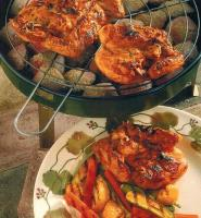 American Butterflied Cornish Game Hens BBQ Grill