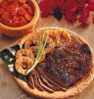 American Marinated Flank Steak with Pineapple BBQ Grill